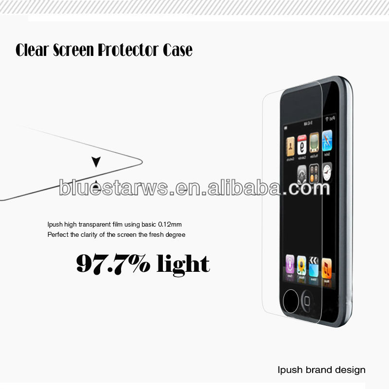 High Quality For Apple iPod Touch 3 Screen Guard, screen protective for ipod