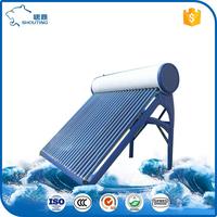 New premium no pressure sun power solar water heater from china supplier