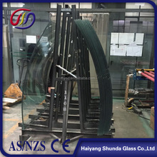 Beijing Haiyangshunda Curved tempered glass panels for window wall and balustrade
