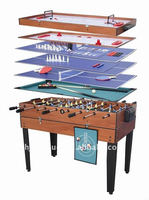 2015 Promotion gift set indoor kid's multi purpose Ice hockey table with Soccer, pool games 10-in-1 multi game tables