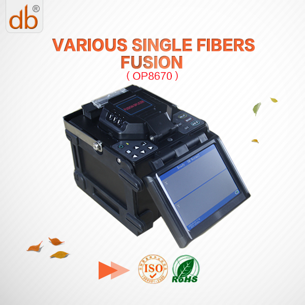 OP-8670 optical fiber fusion splicer same as fusion splicer tcw 605