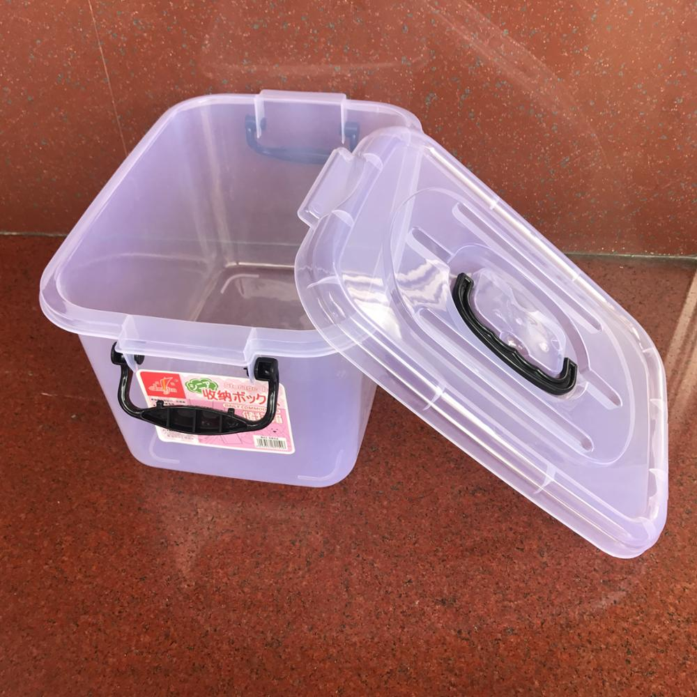 PP cheap price clear transparent plastic storage box
