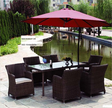 Outdoor garden patio wicker PE rattan furniture