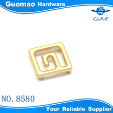square decorations zinc alloy decoration accessories