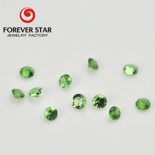 Wholesale AA Quality Small Size Round 2mm Natural Tsavorite Green Garnet Price