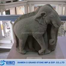 Animal Sculpture Garden Stone Granite Elepant Statues
