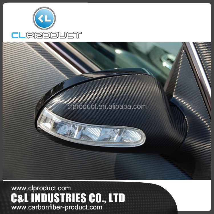 Carbon fiber side mirror cover for car
