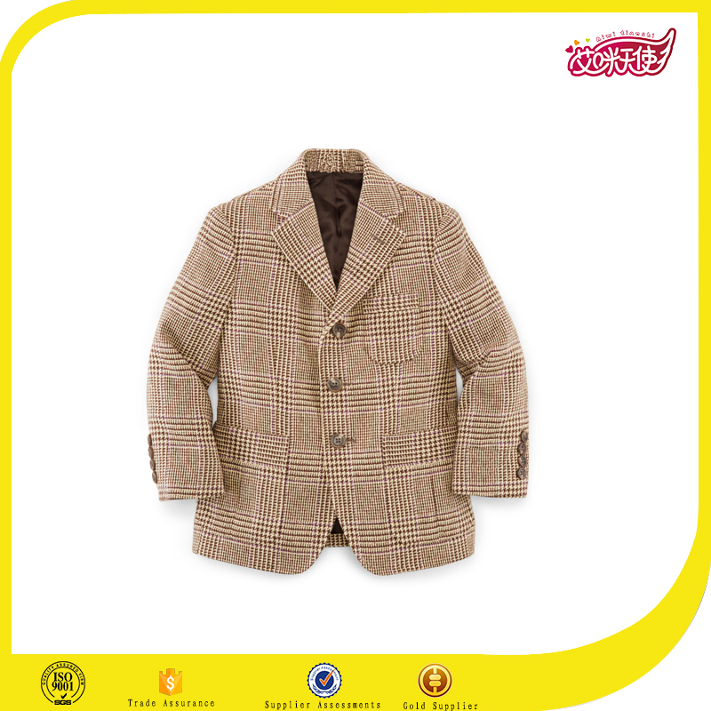 2016 latest school uniform fancy blazer design for boys