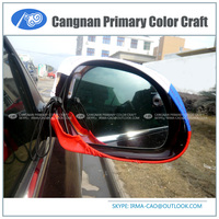 New type national design cover fans product Custom logo car mirror flag