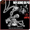 2016 popular TV drama The walking dead necklace 5-in-1 creative necklace
