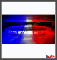 Red Blue LED Waring Lights For Police Car Roof Top LB910-72W