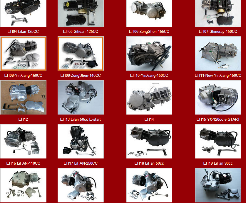 90cc Cheap Engine Used for pocket bike mini bike off road