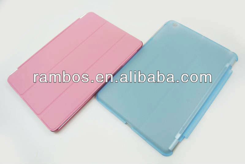 Combo PC + PU PC Back Case Smart Cover for iPad mini 7.9 inch
