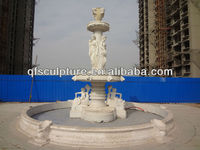 Western Style Large Statue Marble Stone Fountain