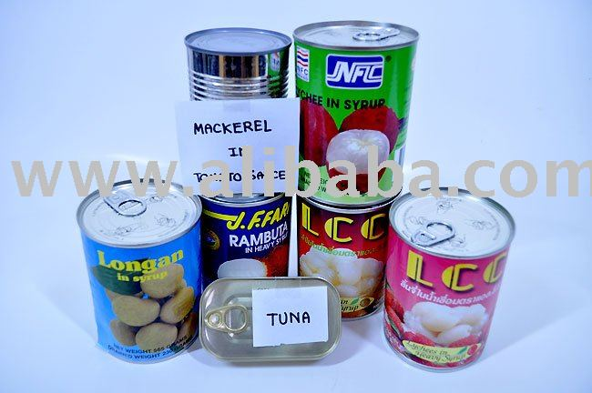 Canned Fruit in Syrup Thailand 100%