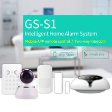 App easily control WIFI wireless alarm system,fashion design for villa and residence decoration