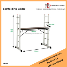 Mini Aluminium scaffolding ladder with multi function use