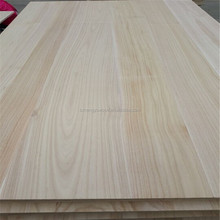 Wholesale Paulownia Wood Panel Edge Glued and Finger Joint