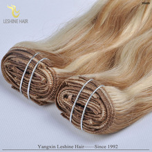 7A Brazilian Virgin Human Hair Kinky Curly Clip In Hair Extensions