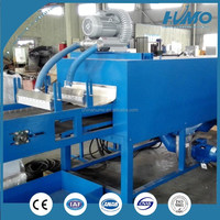 industrial hot air heating dry tunnel drying oven UV IR infrared mesh conveyor belt dryer machine drier