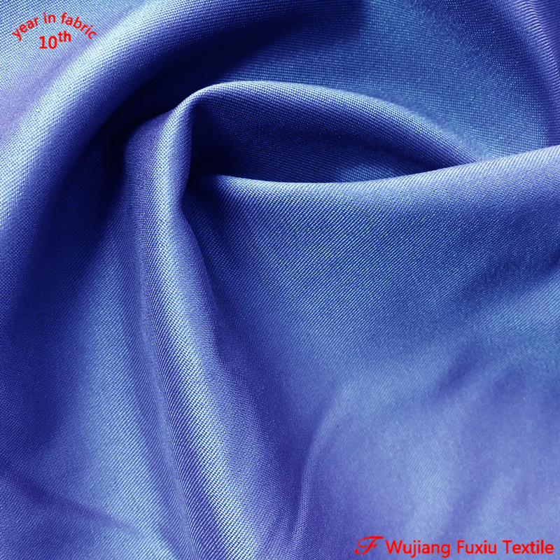 cheap waterproof 2/2 twill weft spandex 92 polyester 8 spandex fabric