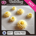 3D resin stone rose flower stickers for hobby lobby decoration