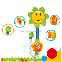 Best selling bathroom sunflower toy favors baby shower / Kids Children Bath Toy / Sunflower Shower Faucet Bath Water