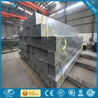 China steel pipe factory supply thin wall thickness galvanized pipe with long service life