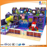 Entertainment funny castle theme indoor playground equipment indoor play land for kids