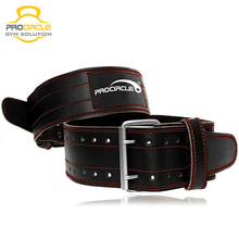 Customized Heavy Gym Leather Weight Lifting Belt
