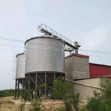 Hot sale small 10 ton steel silo for chicken feed