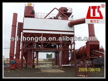 LB1000 Bitumen Mixing Plant made in china 80t/h