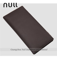 Contracted natural men genuine leather wallet