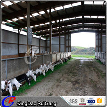 prefabricated steel frame sheep house