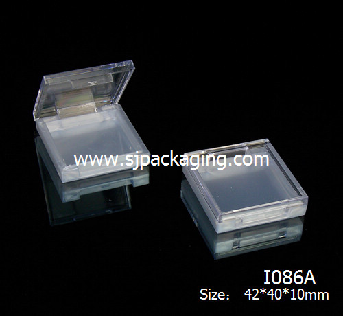 suqare eyeshadow palette container empty eyeshadow palette empty makeup palette