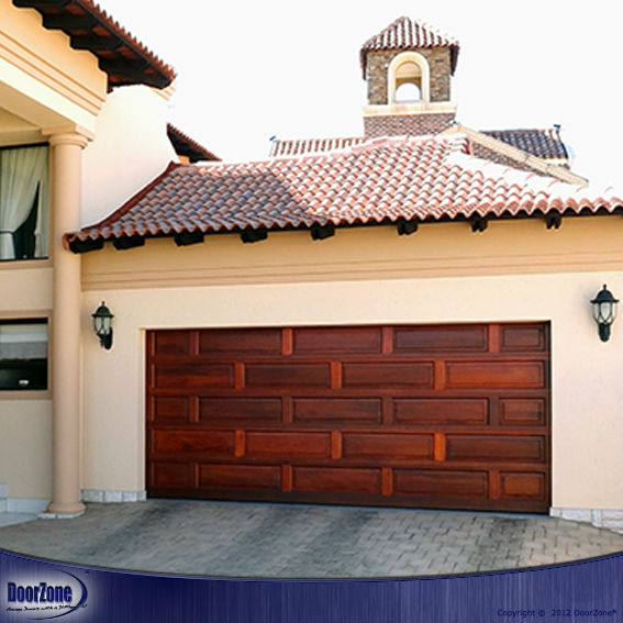 Panel Style Timber Garage Doors