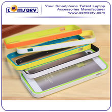 For iPhone 5 5S Two Tone plastic bumper case