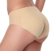 2017 High Quality New Model Ladies Seamless Women Sexy Underwear Push Up Hip Buttocks Padded Panties