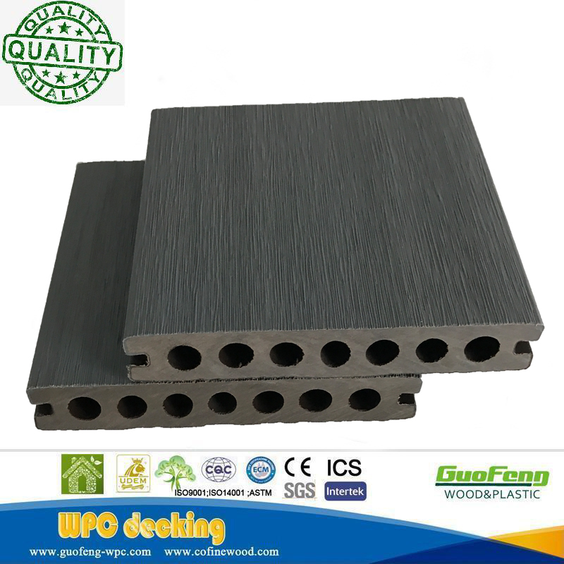 High Quality Prefab House Wpc Co-extrusion Decking Flooring