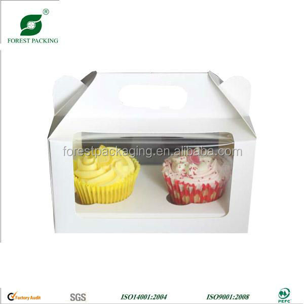 CREATIVE CUPCAKE PACKAGING BOX MANUFACTURE CUSTOM SERVICE SUPPLIER