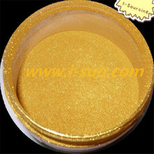 Hot sale shinning golden pearl powder pigment painting raw materials