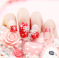 new fashion fake nails design press on nails