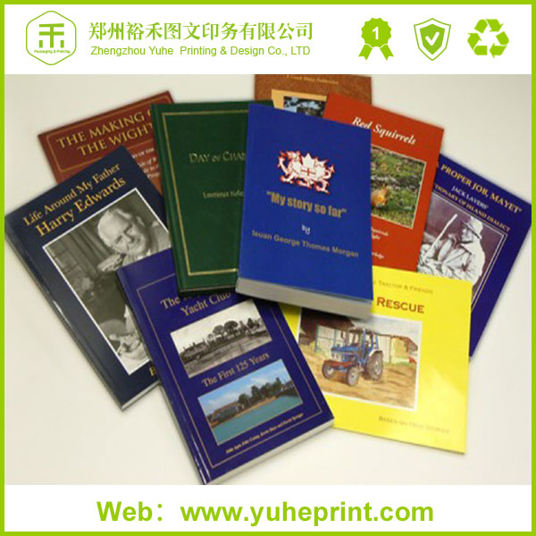 Bottom price business big sized uncoated paper soft cover perfect binding reference book