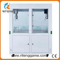 China Wholesale Market Agents arcade toy claw crane game machine mini acumen baby toy crane game machine