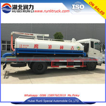 10m3 toilet sucker truck , waste collection truck,septic tank truck water cycle vacuum pump vacuum trucks