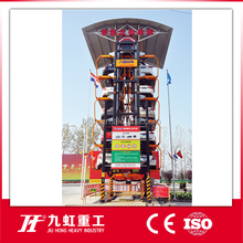 Automatic Mechanical Rotary Car Parking Guidance System