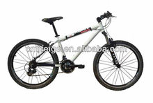 "26"" white alloy MTB bike with shimano 21s"