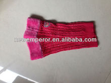 children knitted leg warmer