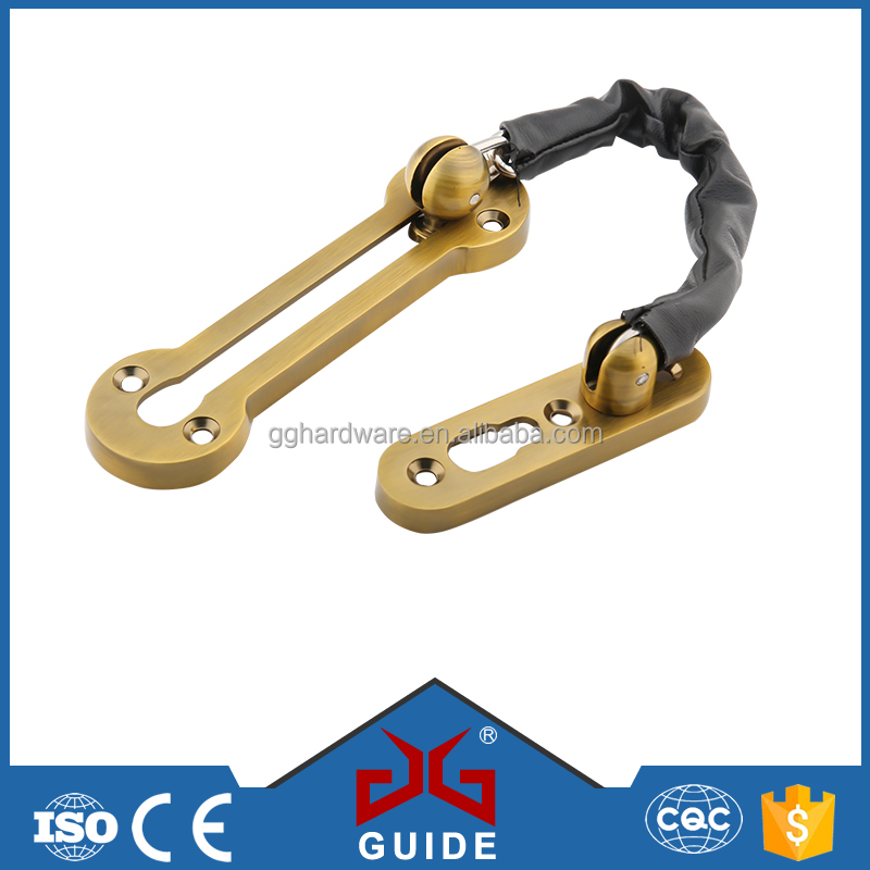 Hotel use security hardware accessories door guard chain