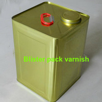 PET Blister Pack Varnish High Quality